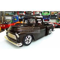1:24 Chevrolet Stepside 1955 Cafe Jada Toys Pick Up Display