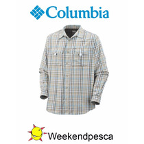 Camisa Columbia Silver Ridge Plaid Ml Weekendpesca Colores