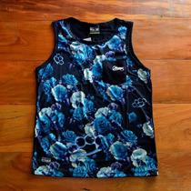 Camiseta Regata Chronic Floral Soco Ingês Original