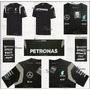 Playera Mercedes Amg Petronas F1 Linea 2016 Hamilton Rosberg<br><strong class='ch-price reputation-tooltip-price'>$ 1,189<sup>00</sup></strong>