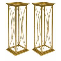 Colunas Decoração Casamentos 80cm X 32cm Kit 2 Peças