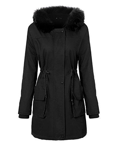 Abrigos con capucha para mujer