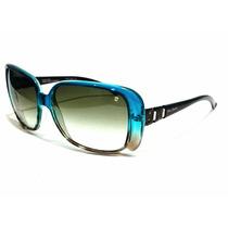 Óculos De Sol Pierre Cardin Aro E Lentes Degradê