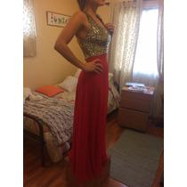 Vestido Fiesta Gala Rojo
