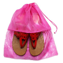 Kit Com 20 Sacos Pink Para Sapatos Ou Roupas