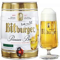Barril Cerveza Bitburger La Premium Alemana X 5 Litros