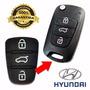 Capa Borracha Chave Hyundai I30 Ix35 Azera Kia Cerato Soul