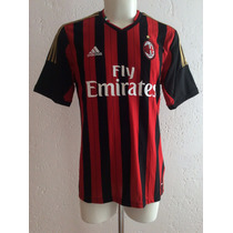 Jersey Ac Milan Local Temporada 2013-14 Adidas 100% Original