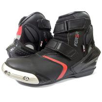 Bota Motociclista Forza Rider Tit N/ Alpinestar/texx/sidi