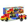 Transporte Con Cuatriciclos Para Nenes Plastico Camion 229