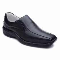 Sapato Social Masculino Couro Anti Stress Confortável