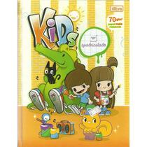 Cadernos Brochura Capa Dura Quadriculado Kids Tilibra