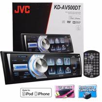 Dvd Player Jvc Kd-av500dt Tela 3´ Usb Ipod/iphone Tv Digital