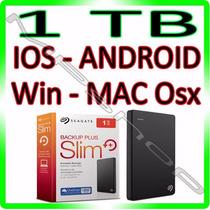 Hd Externo Seagate Backup Plus 1tb Mac - Win - Ios - Android