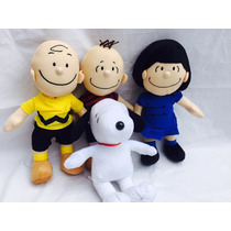 Snoopy Lucy Charlie Brown E Linus E Woodstock