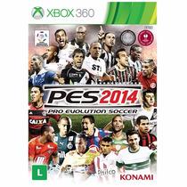 Pes 2014 Pro Evolution Soccer - Xbox 360 - Lacrado