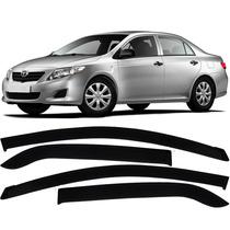 Calha De Chuva Defletor Corolla 2008 A 2014 - 4 Portas