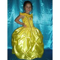 Vestido Disfraz Bella Y Bestia Princesas Disney El Mas Lindo