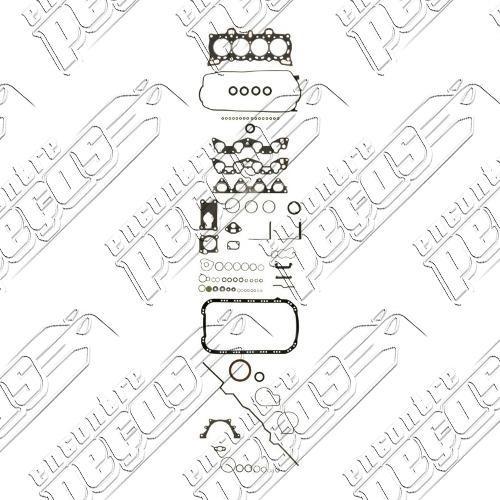 Jogo Juntas Motor Honda Crx Si 1 6 16v 88 90 Motor D16a6