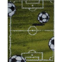 Alfombra Infantil Fútbol 120x170cm Kreatex