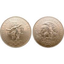 Moneda Plata Juegos Olimpicos 1968