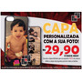Capa Personalizada Foto Iphone 4 5 6 J5 Moto G G2 G3 Capinha