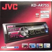 Autoestereo Jvc Arsenal Kd-ar755 Multicolor Usb Aux Cd Mp3