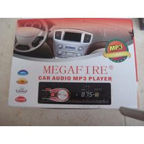 Auto Estéreo Mp3 Cd Megafire Mf318 Caratula Desmontable