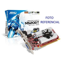 Tarjeta De Video Msi Geforce N 520gt 2gb Ddr3
