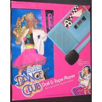 Barbie Dance Club Doll & Cinta Set De Juego W Doll, Cassete