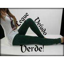 Calça Legging Veludo Cotelê Feminina 6 Cores - R$ 59,00 Un