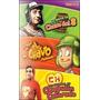 Pack 3 Dvd Chavo + Chapulin + Chavo Animado Originales