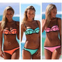 Bikini Malla Traje De Baño Neoprene Importada Moderna.