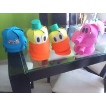 Gorras De Fomi Pocoyo Y Buble Guppies