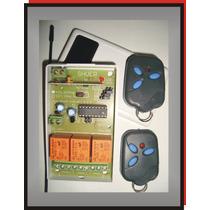Kit + 2 Control Remoto 3 Canal Alarma Porton Cerradura Luces