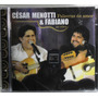 Mpb Pop Cd César Menotti & Fabiano Palavras De Amor Ao Vivo