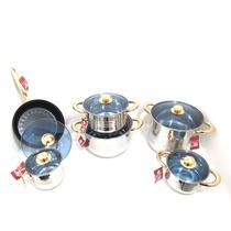 Bateria Kuche De Cocina De Acero Inox Mod. Angeles - B1122