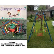 Combo Hamaca Y Calesita Juegosnatalia