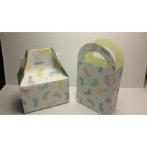 Mini Cajitas Dulceras Baby Shower, Bautizo, Bienvenida Bebé