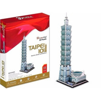 Rompecabezas 3d Taipei 101 Cubic Fun