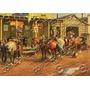 Placa Vintage King Mdf 39x27cm Velho Oeste Bc.03558