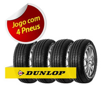 Kit 4 Pneu Aro 13 165/70r13 Carro Roda Dunlop Sp Touring T1