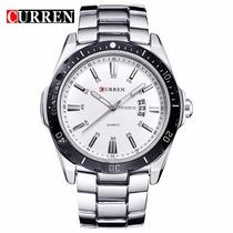 Relógio Masculino Importado Curren De Luxo Original - Barato