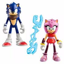 Sonic Boom - Sonic & Amy - Articulado - Tomy