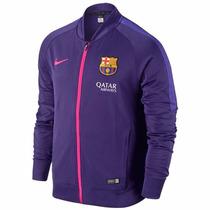 Chaqueta Sudadera Nike Hombre Fc Barcelona - Liquidación
