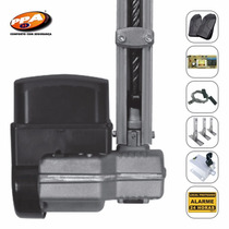 Kit Motor Portão Basculante Ppa 1/4 + Trava + 3 Suportes