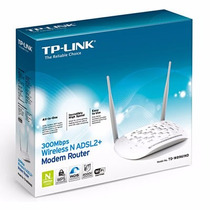 Modem Adsl2 + Roteador Wireless 300mbps Td-w8961nd Tp Link C
