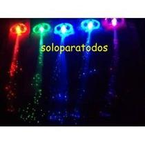 Extensiones Hebillas De Fibra Optica Luminosas Multicolor