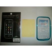 Kit 3x1 Tpu+ Mica Privacidad+ Paño Motorola Ex116!!!