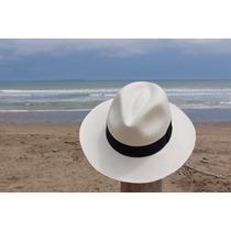 Sombrero Panama Hecho A Mano En Ecuador 100% Paja Toquilla